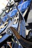 Détail de gondole, Venise Images stock