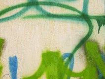 Détail de graffiti Photographie stock