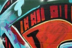 Détail de graffiti images stock