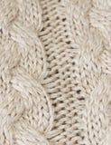 Détail de grands modèles de tricotage Photo verticale Photographie stock libre de droits