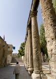 Détail de l'amphithéâtre romain i Image stock