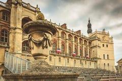Détail de l'architecture du château de la Renaissance de la GE de saint Photos libres de droits
