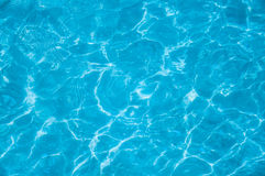 Détail de l'eau bleue images stock