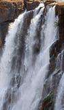 Détail de l'eau en baisse Victoria Falls Plan rapproché parc Mosi-bureautique-Tunya national et site de patrimoine mondial Zambiy Photo libre de droits