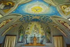 Détail de la chapelle italienne images libres de droits