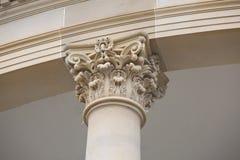 Détail de la colonne en pierre Image stock