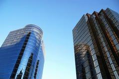 Détail de la construction moderne d'affaires à Vancouver Photos libres de droits