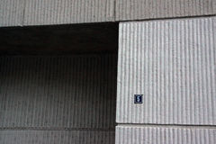 Détail de la façade de la Chambre polonaise dans Suceava Roumanie photographie stock libre de droits