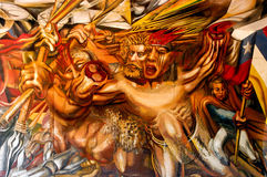 Peintures murales de mur Image libre de droits