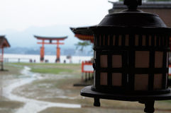 Détail de lanterne japonaise Photos libres de droits