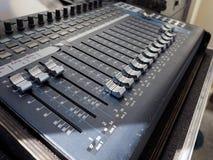 Détail de mélangeur d'abat-voix photo libre de droits