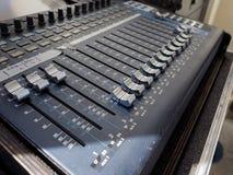 Détail de mélangeur d'abat-voix photos libres de droits