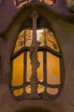 Détail de maison Batllo, Barcelone, Espagne image libre de droits