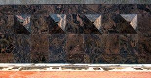 Détail de marbre Images libres de droits