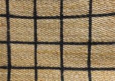 Détail de modèle payé de texture d'armure de panier Photos stock