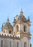 Détail de monastère d'Alcobaca Photos libres de droits
