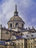 Détail de monastère d'EL Escorial Photos stock