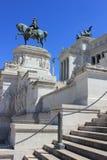 Détail de monument de Rome, Italie - de Vittorio Emanuele II photographie stock libre de droits