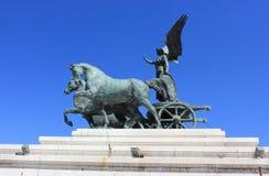 Détail de monument de Rome, Italie - de Vittorio Emanuele II photos libres de droits