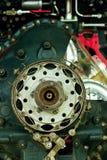 Détail de moteur à piston photos libres de droits