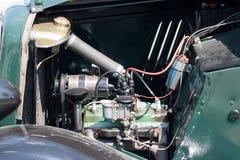 Détail de moteur de voiture de vintage Photographie stock libre de droits
