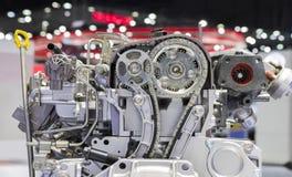 Détail de moteur diesel Images libres de droits