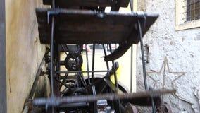 Détail de moulin de lames banque de vidéos