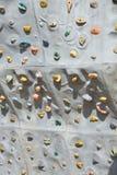 Détail de mur artificiel de roche Photographie stock libre de droits