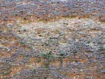 Détail de mur de briques antique, Sienne, Italie Photo stock