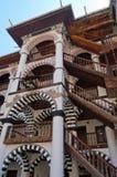 Détail de mur de monastère de Rila Image libre de droits