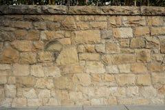Détail de mur de grès Images libres de droits