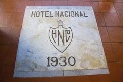 Détail de nacional d'hôtel Image stock