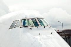 Détail de nez d'aéronefs Image libre de droits
