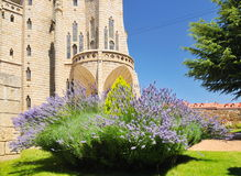 Détail de palais épiscopal d'Astorga Image libre de droits
