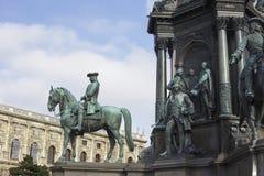 Détail de palais de Hofburg à Vienne photos stock