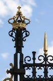 Détail de palais royal à Madrid, Espagne Images stock