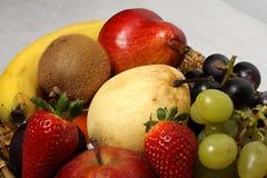 Détail de panier de fruit Photos libres de droits