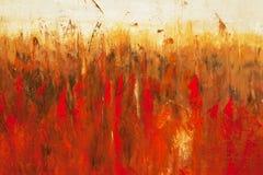 Détail de peinture. illustration stock