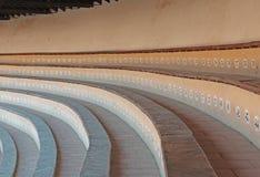 Détail de photo des sièges d'arène Photographie stock