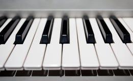 Détail de piano photographie stock libre de droits