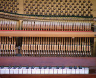 Détail de piano Images libres de droits