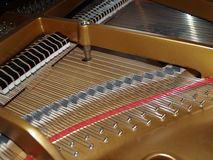 Détail de piano Photographie stock