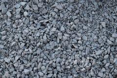 Détail de pierres concassées Photo stock