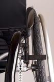 Détail de plan rapproché d'un fauteuil roulant Image stock