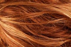 Détail de plan rapproché de texture de fond de cheveux Photographie stock
