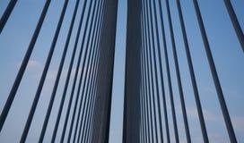 Détail de pont photo stock