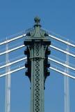 Détail de pont de Manhattan Photographie stock libre de droits