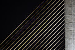 Détail de pont de Rama 8 image stock