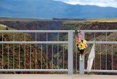 Détail de pont de gorge du Río Grande Photo libre de droits