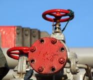 Détail de port d'arrivée ou de départ pour le pétrole photos libres de droits